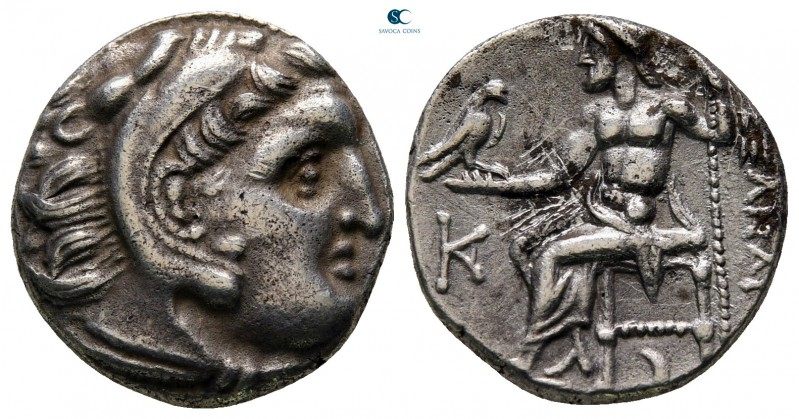 Kings of Macedon. Kolophon. Antigonos I Monophthalmos 320-301 BC. In the name an...