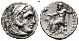 Kings of Thrace. Magnesia. Macedonian. Lysimachos 305-281 BC. In the name and types of Alexander III. Struck circa 301/0-300/299 B. Drachm AR