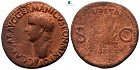 Caligula AD 37-41. Rome. As Æ