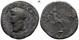 Nero as Caesar AD 50-54. Rome. As Æ
