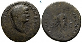 Domitian AD 81-96. Rome. As Æ