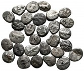 Lot of ca. 30 achaemenid sigloi / SOLD AS SEEN, NO RETURN!very fine
