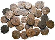 Lot of ca. 30 greek bronze coins / SOLD AS SEEN, NO RETURN!very fine