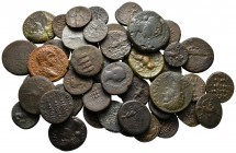 Lot of ca. 47 roman provincial bronze coins / SOLD AS SEEN, NO RETURN!nearly very fine