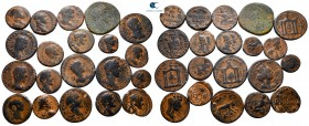 Lot of ca. 20 roman provincial bronze coins / SOLD AS SEEN, NO RETURN!nearly very fine