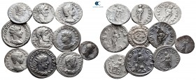 Lot of ca. 10 roman silver coins / SOLD AS SEEN, NO RETURN!nearly very fine