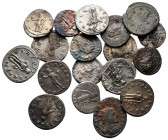 Lot of ca. 18 roman coins / SOLD AS SEEN, NO RETURN!very fine