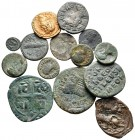 Lot of ca. 14 ancient bronze coins / SOLD AS SEEN, NO RETURN!very fine