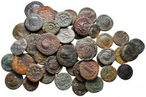 Lot of ca. 52 ancient bronze coins / SOLD AS SEEN, NO RETURN!fine