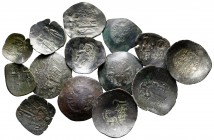 Lot of ca. 14 byzantine bronze coins / SOLD AS SEEN, NO RETURN!very fine