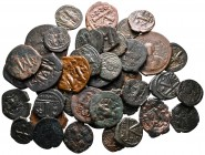Lot of ca. 40 byzantine bronze coins / SOLD AS SEEN, NO RETURN!very fine