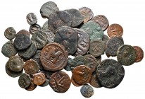 Lot of ca. 55 byzantine bronze coins / SOLD AS SEEN, NO RETURN!very fine