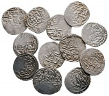 Lot of ca. 12 islamic silver coins / SOLD AS SEEN, NO RETURN!very fine