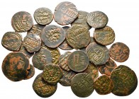 Lot of ca. 30 islamic bronze coins / SOLD AS SEEN, NO RETURN!nearly very fine