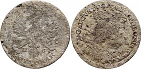 Germany, Saxony, Friedrich August II, Pultorak 1756, Leipzig R4