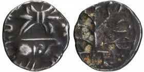 Potin Coin of Nahapana of Western Kshatrapas.
