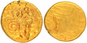 Punch Marked Gold Pagoda Coin of Singhanadeva of Yadavas of Devagiri.