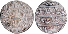 Silver One Rupee Coin of Shahjahan of Akbarabad Mint.