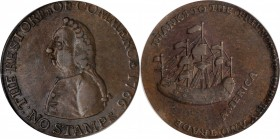 Pitt Halfpenny Token