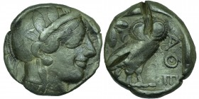 Attica, Athens; Tetradrachm, c. 430/440 BC, 