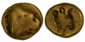 LESBOS. Mytilene. Circa 478-455 BC. 