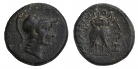 Miletopolis (BC 200-0) AE
