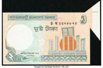 Bangladesh Error Peoples Republic 2 Taka 2003 Pick 6Cg Uncirculated. Sold as is, no returns.   HID09801242017  © 2020 Heritage Auctions | All Rights R...