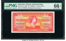 Bermuda Bermuda Government 10 Shillings 1.10.1966 Pick 19c PMG Gem Uncirculated 66 EPQ.   HID09801242017  © 2020 Heritage Auctions | All Rights Reserv...