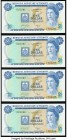 Bermuda Monetary Authority 1 Dollar 1.12.1976 Pick 28a* Four Consecutive Replacement Examples Crisp Uncirculated.   HID09801242017  © 2020 Heritage Au...