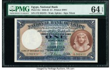 Egypt National Bank of Egypt 1 Pound 4.12.1943 Pick 22c PMG Choice Uncirculated 64 EPQ.   HID09801242017  © 2020 Heritage Auctions | All Rights Reserv...
