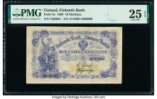Finland Finlands Bank 10 Markkaa 1898 Pick 3c PMG Very Fine 25 EPQ.   HID09801242017  © 2020 Heritage Auctions | All Rights Reserved