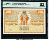 Finland Finlands Bank 500 Markkaa 1909 (ND 1918) Pick 23 PMG About Uncirculated 53.   HID09801242017  © 2020 Heritage Auctions | All Rights Reserved