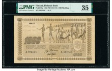 Finland Finlands Bank 1000 Markkaa 1922 (ND 1931-45) Pick 67a PMG Choice Very Fine 35.   HID09801242017  © 2020 Heritage Auctions | All Rights Reserve...
