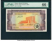 Ghana Bank of Ghana 5 Pounds 1.7.1962 Pick 3d PMG Gem Uncirculated 66 EPQ.   HID09801242017  © 2020 Heritage Auctions | All Rights Reserved
