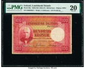 Iceland Landsbanki Islands 100 Kronur 15.4.1928 (ND 1934-47) Pick 30e PMG Very Fine 20.   HID09801242017  © 2020 Heritage Auctions | All Rights Reserv...