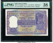 India Reserve Bank of India 100 Rupees ND (1962-67) Pick 45 Jhun6.7.4.2 PMG Choice About Unc 58. Staple hole at issue.  HID09801242017  © 2020 Heritag...
