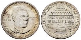 Estados Unidos. 1/2 dollar. 1950. San Francisco. S. (Km-198). Ag. 12,52 g. Booker T. Washington. SC-. Est...65,00. /// ENGLISH: United States. 1/2 dol...