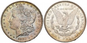 Estados Unidos. 1 dollar. 1883. Nueva Orleans. O. (Km-110). Ag. 26,71 g. Brillo original. Tono en anverso. EBC+. Est...40,00. /// ENGLISH: United Stat...