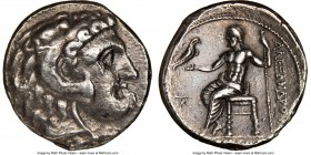 MACEDONIAN KINGDOM. Alexander III the Great (336-323 BC). AR tetradrachm (25mm, 1h). NGC VF. Late lifetime-early posthumous issue of Cyprus, Citium, u...