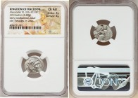 MACEDONIAN KINGDOM. Alexander III the Great (336-323 BC). AR drachm (17mm, 4.30 gm, 6h). NGC Choice AU 4/5 - 4/5. Posthumous issue of Lampsacus, ca. 3...