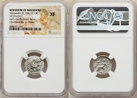 MACEDONIAN KINGDOM. Alexander III the Great (336-323 BC). AR drachm (18mm, 1h). NGC XF. Posthumous issue of Lampsacus, under Antigonus I Monophthalmus...