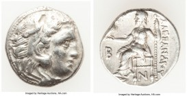 MACEDONIAN KINGDOM. Alexander III the Great (336-323 BC). AR drachm (17mm, 4.15 gm, 12h). XF. Early posthumous issue of 'Colophon', ca. 310-301 BC. He...