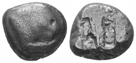 KINGS of LYDIA. Kroisos. Circa 564/53-550/39 BC. Stater  Condition: Very Fine  Weight: 10.60 gr Diameter: 18 mm