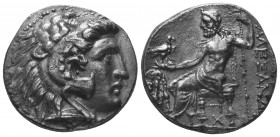 MACEDONIAN KINGDOM. Alexander III the Great (336-323 BC). AR tetradrachm   Condition: Very Fine  Weight: 15.80 gr Diameter: 25 mm
