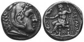 MACEDONIAN KINGDOM. Alexander III the Great (336-323 BC). AR tetradrachm   Condition: Very Fine  Weight: 17.00 gr Diameter: 24 mm