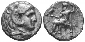 MACEDONIAN KINGDOM. Alexander III the Great (336-323 BC). AR tetradrachm   Condition: Very Fine  Weight: 15.30 gr Diameter: 23 mm