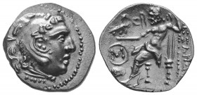 MACEDONIAN KINGDOM. Alexander III the Great (336-323 BC). AR Drachm   Condition: Very Fine  Weight: 4.00 gr Diameter: 18 mm