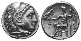 MACEDONIAN KINGDOM. Alexander III the Great (336-323 BC). AR Drachm  Condition: Very Fine  Weight: 4.40 gr Diameter: 17 mm