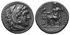 MACEDONIAN KINGDOM. Alexander III the Great (336-323 BC). AR Drachm  Condition: Very Fine  Weight: 3.80 gr Diameter: 17 mm