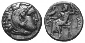 MACEDONIAN KINGDOM. Alexander III the Great (336-323 BC). AR Drachm  Condition: Very Fine  Weight: 4.10 gr Diameter: 15 mm